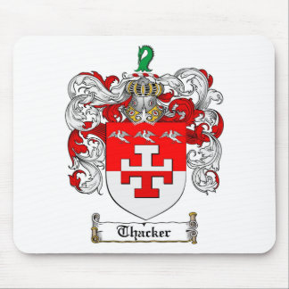 Thacker Family Crest - Thacker Coat of Arms Mouse Pad
