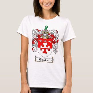 Thacker Family Crest - Thacker Coat of Arms T-Shirt