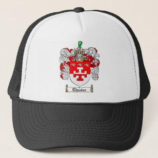 Thacker Family Crest - Thacker Coat of Arms Trucker Hat