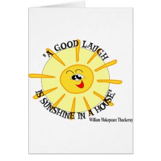thackeray greeting card