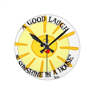 thackeray round wall clock