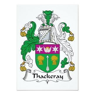 Thackeray Family Crest Personalized Invites