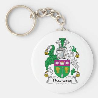 Thackeray Family Crest Key Chain