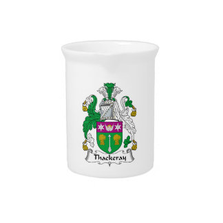 Thackeray Family Crest Beverage Pitchers