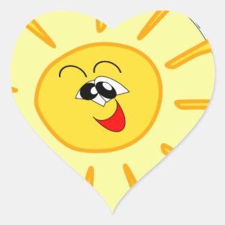 thackeray heart sticker