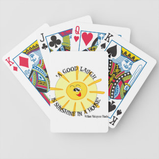 thackeray bicycle playing cards