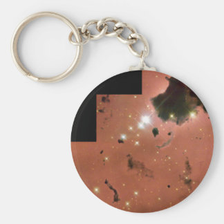 Thackeray's Globules- Dense, Opaque Dust Clouds Keychain