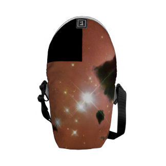 Thackeray's Globules- Dense, Opaque Dust Clouds Messenger Bags