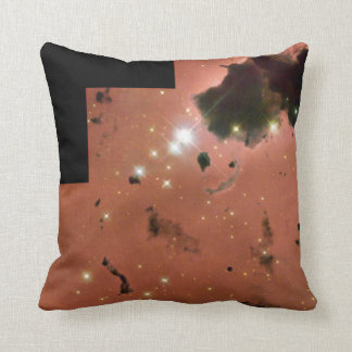 Thackeray's Globules- Dense, Opaque Dust Clouds Throw Pillow