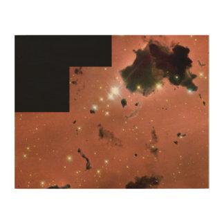 Thackeray's Globules- Dense, Opaque Dust Clouds Wood Wall Art