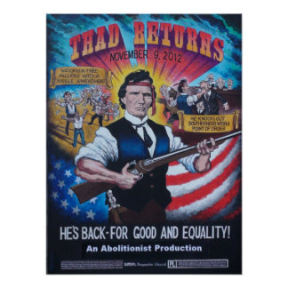 Thad Returns Poster