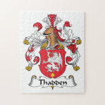 Thadden Family Crest Jigsaw Puzzles