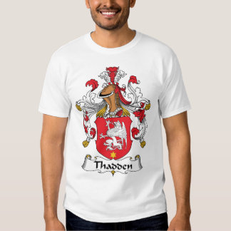 Thadden Family Crest Tee Shirts