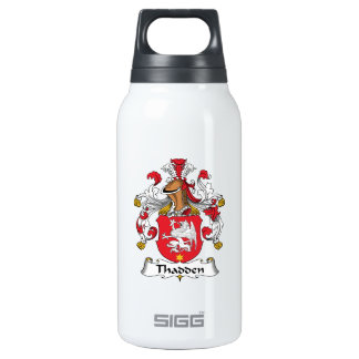 Thadden Family Crest Thermos Water Bottle