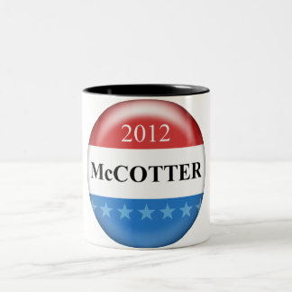 Thaddeus McCotter Two-Tone Coffee Mug