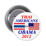 Thai americans for obama button