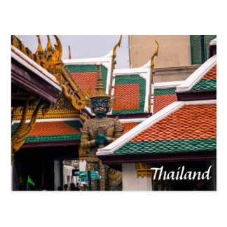 Thai Architecture Postcard