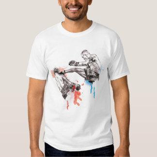 Thai Boxing art/paint T-shirt
