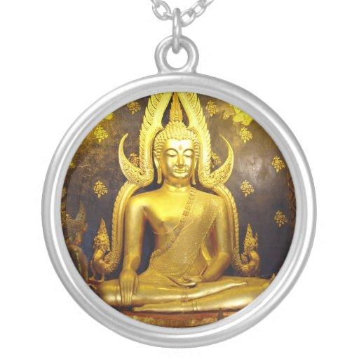 Thai Buddha Photo Necklace