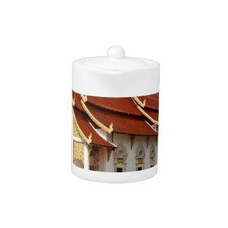 Thai Buddhist Temple Teapot