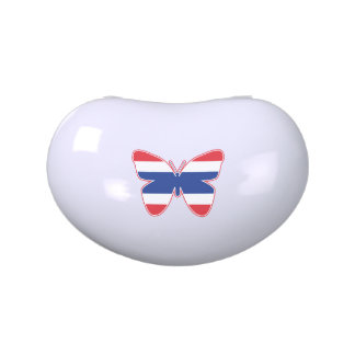 Thai Butterfly Flag Jelly Belly Candy Tin