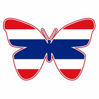 Thai Butterfly Flag Cutout
