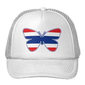 Thai Butterfly Flag Trucker Hat