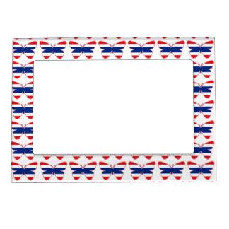 Thai Butterfly Flag Magnetic Frame