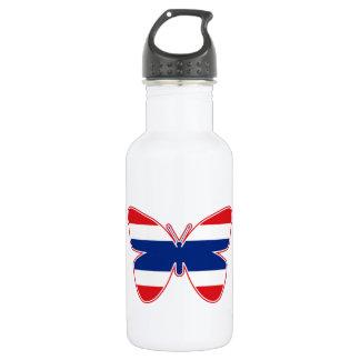 Thai Butterfly Flag 18oz Water Bottle
