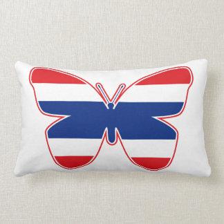 Thai Butterfly Flag Pillow
