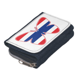 Thai Butterfly Flag Wallet