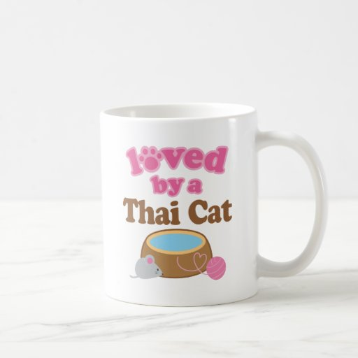 Thai Cat Breed Loved By A Gift Classic White Coffee Mug