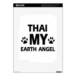 Thai cat design iPad 3 skin