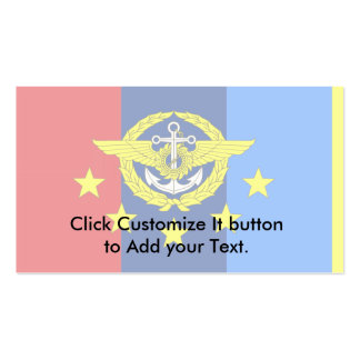 Thai Chief Of The Defence Forces, Thailand Business Card Templates
