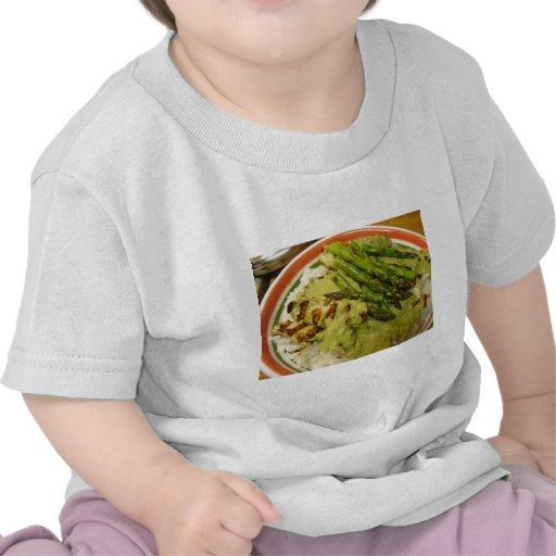 Thai Curry Grilled Asparagus T Shirt
