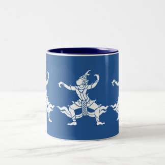 Thai Dancer ⚠ Thailand Sign ⚠ Two-Tone Coffee Mug