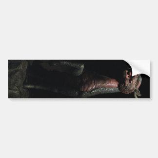 Thai Dragon Horse Bumper Sticker