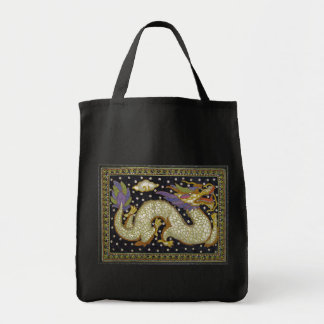 Thai Dragon Tapestry Tote Bag