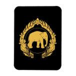 Thai Elephant Rectangular Photo Magnet