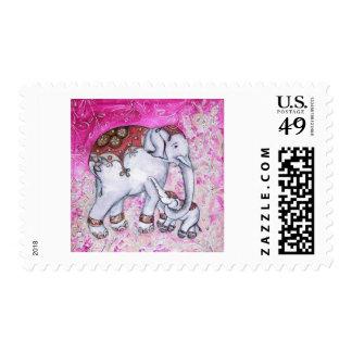 THAI ELEPHANTS POSTAGE