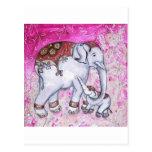 THAI ELEPHANTS POSTCARDS