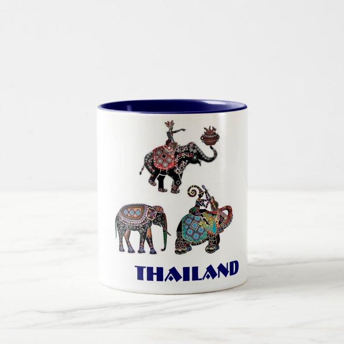 Thai Elephants Thailand Travel Souvenir