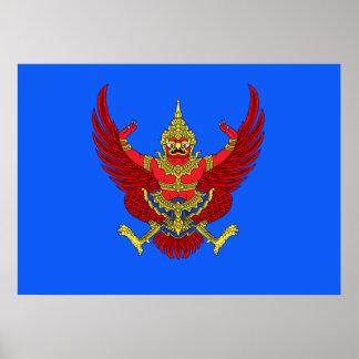 Thai emblem poster