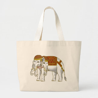 Thai Erawan White Elephant Bag