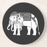 Thai Erawan White Elephant Beverage Coasters