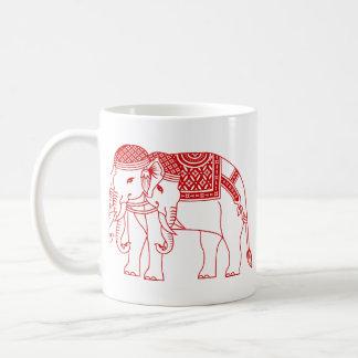 Thai Erawan White Elephant Coffee Mug