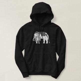 Thai Erawan White Elephant Hoodie