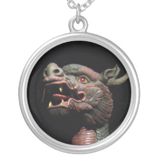 Thai Fairytale - The Dragon Horse Silver Plated Necklace