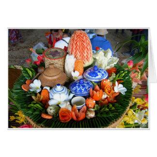 Thai Feast Card