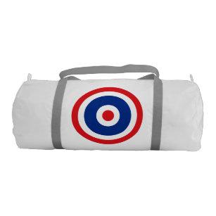 Thai Flag Roundel Target Gym Bag
